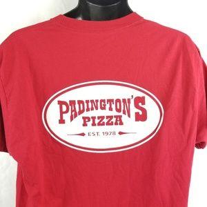 Paddington Pizza Employee Uniform T Shirt Large
